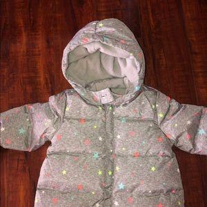 GAP Jackets & Coats - Baby Gap Down Filled Snowsuit